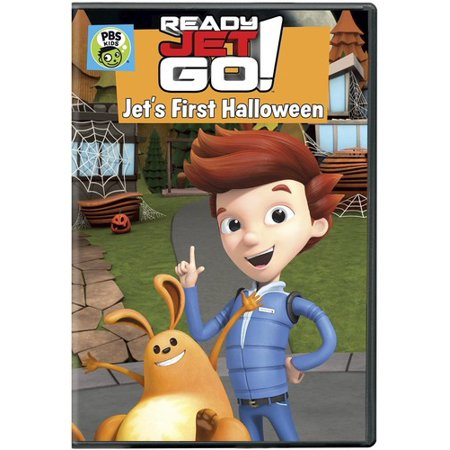 Ready Jet Go! Jet's First Halloween (DVD) - Pbs Kids Go Halloween