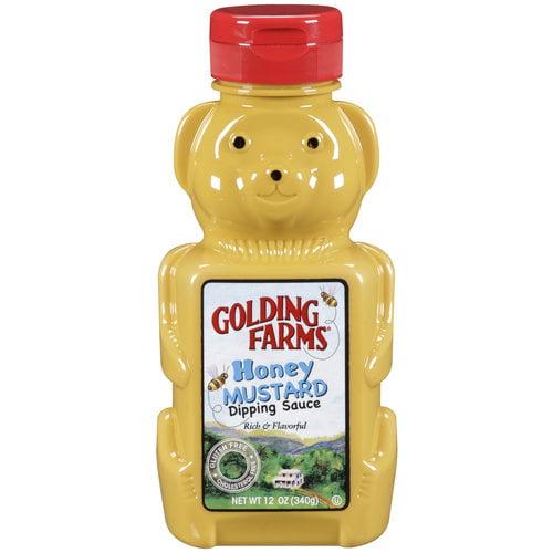 Golding Farms Honey Mustard Dipping Sauce, 12 oz