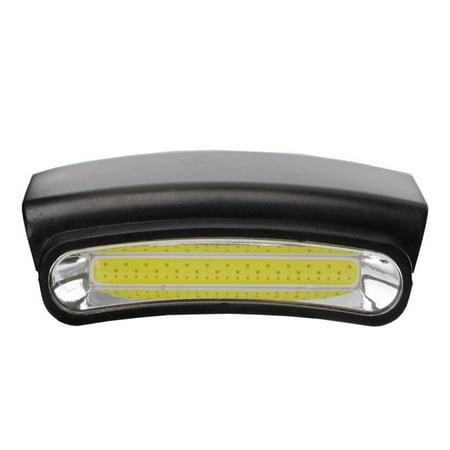 Portable Mini Hands Free LED Clip on Cap Light,Lightweight Spotlight Waterproof - Best Cap Light Flashlight Head Lamp For Fishing Running Camping Cycling Hand