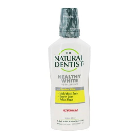 Healthy White Pre-Brush Rinse Clean Mint - 16.9 fl. oz. by The Natural Dentist (pack of 1)