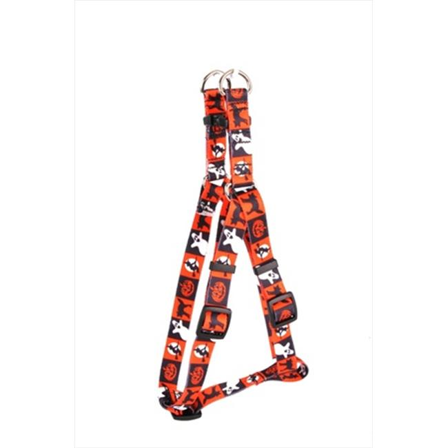 Yellow Dog Design SI-PUM101S Pumpkin Patch Step-In Harness - Small