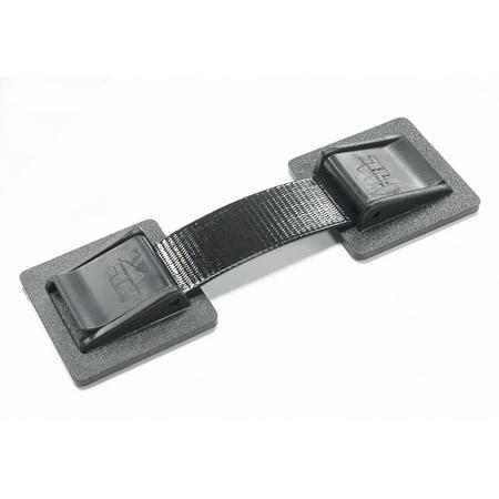 Safety Straps Equipment Straps Black (2-Pack)