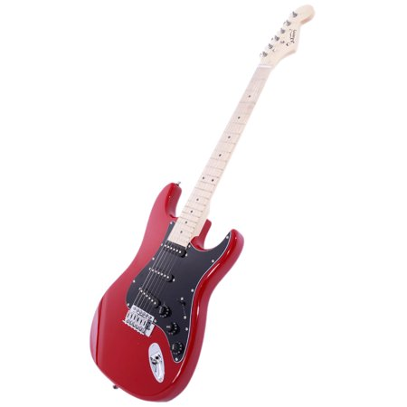 glarry st burning fire 22 frets basswood beginner electric guitar w accessories 8 colors. Black Bedroom Furniture Sets. Home Design Ideas