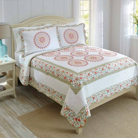 Better Homes And Gardens Multi Medallion Quilt Collection