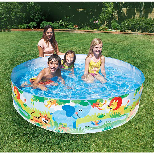 "My Sunshine 6' x 15"" Snap Set Swimming Pool"