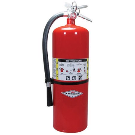 Image of Amerex 20 Pound ABC Dry Chmcl Fire Extinguisher With Aluminum Valve