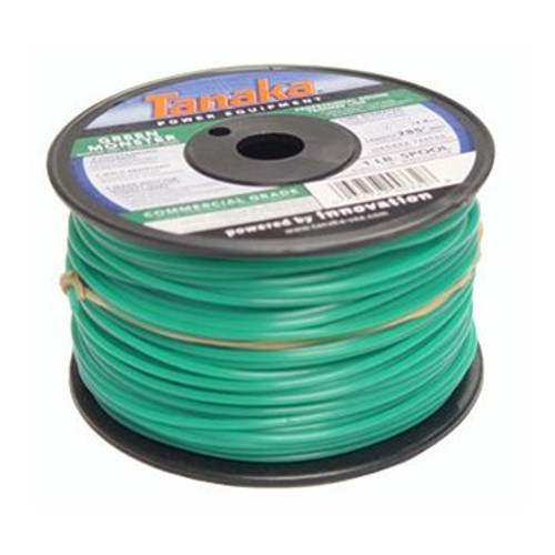 Tanaka 746600 0.155 in. x 315 ft. Green Monster Commercial Grade Trimmer Line Spool (3 lb.)