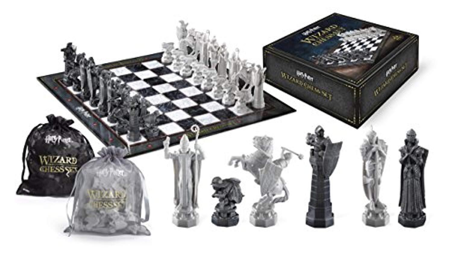 Harry Potter Wizard Chess Set by BlackBeltShop