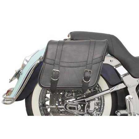 Saddlemen X021-02-040 Highwayman Slant-Style Saddlebag - Classic - 13in.L x 6in.W x 9 1/2in.H