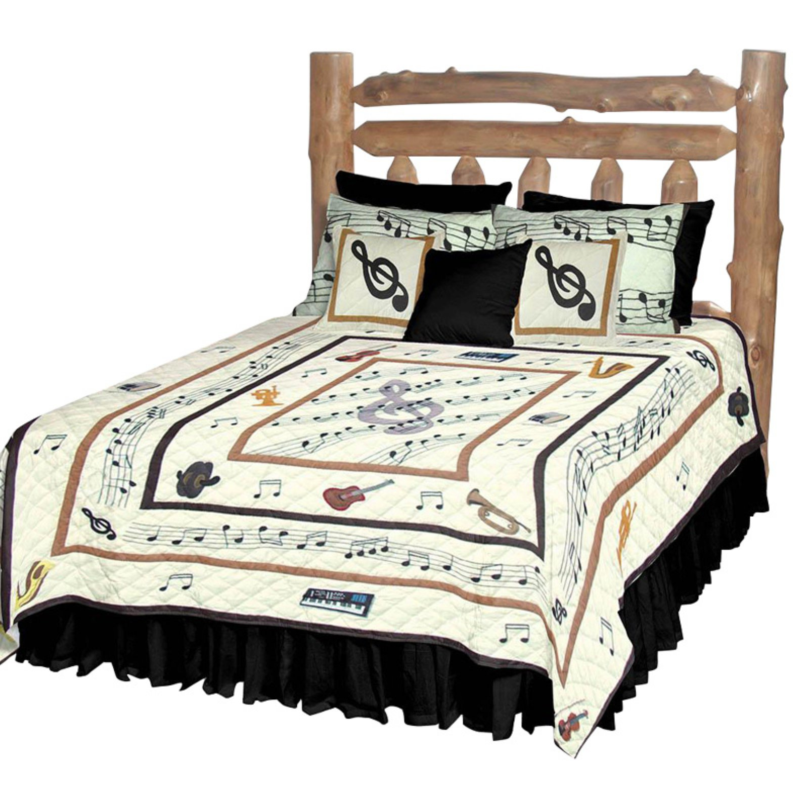 Patch Magic QKMUSC Music, Quilt King 105 x 95 inch