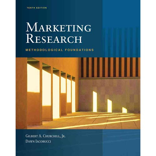 Marketing Research: Methodological Foundations