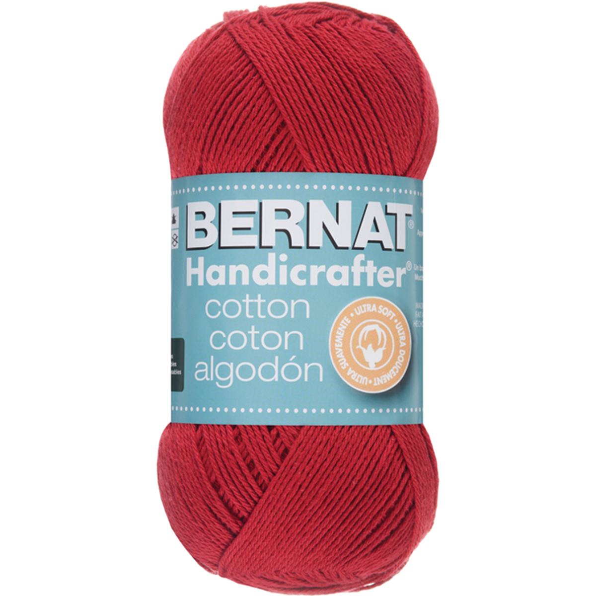 Handicrafter Cotton Yarn - Solids-Country Red