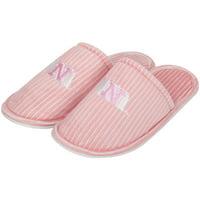Nebraska Cornhuskers Women's Slide Slipper - Pink - S
