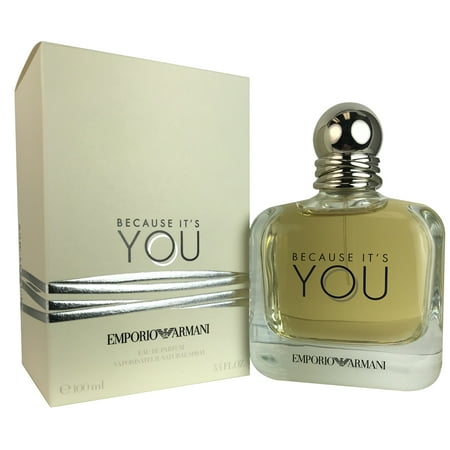 Giorgio Armani Emporio Armani Because Its You 34 Oz Edp Sp