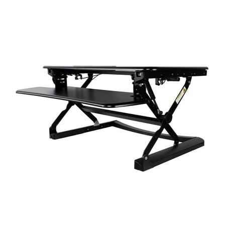 TygerClaw Ergonomic Sit-Stand Desktop Workstation Stand - image 1 de 1