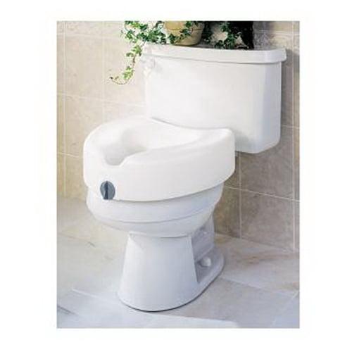 Guardian Locking Raised Toilet Seat - 1 Ea