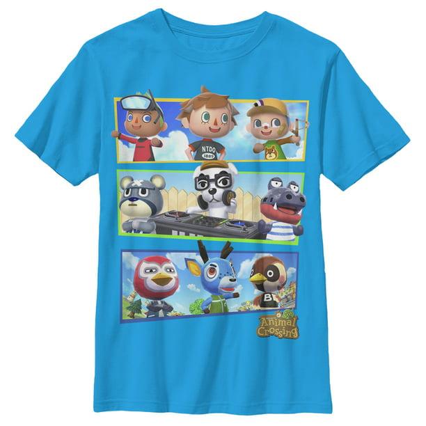 Nintendo Animal Crossing Mens Shirts from $7 on Walmart.com