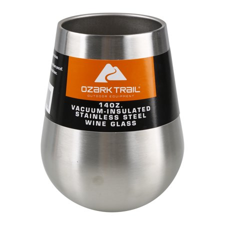 Ozark Trail Vacuum Insulate Ss Wine Glass