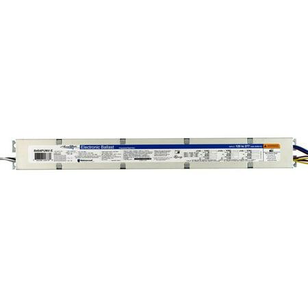 AccuStart 5 B454PUNV-E - 4 Lamp - F54T5/HO - 120/277 Volt - Programmed Start - 1.0 Ballast Factor, # of Lamps: 4 By Universal