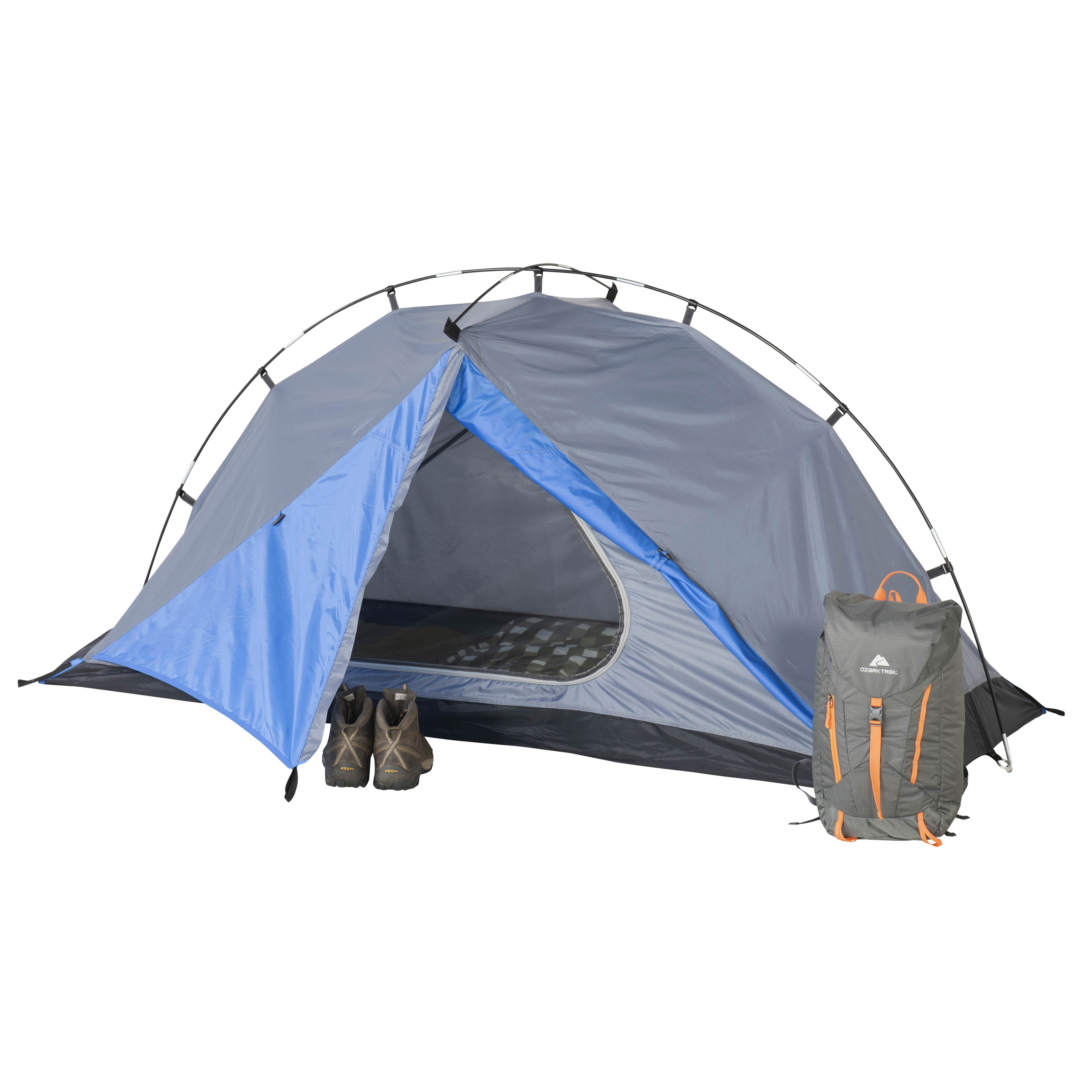 f4ab90466d Ozark Trail 1-Person Backpacking Tent - Walmart.com