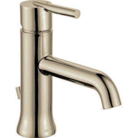 Delta Trinsic Single Handle Bathroom Faucet, Champagne Bronze