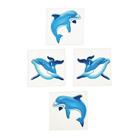 Dolphin Temporary Tattoos (6 dozen per unit)