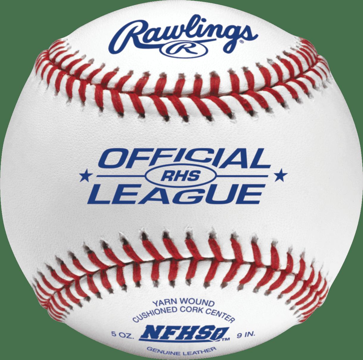 Rawlings NFHS High School Baseballs, Box of 24 by Rawlings