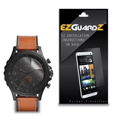 (1-Pack) EZGuardZ Screen Protector for Fossil Q Nate (Ultra Clear)