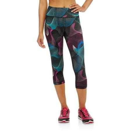 24e91243d70045 Danskin Now - Women's Allover Print Performance Capri Leggings - Walmart.com