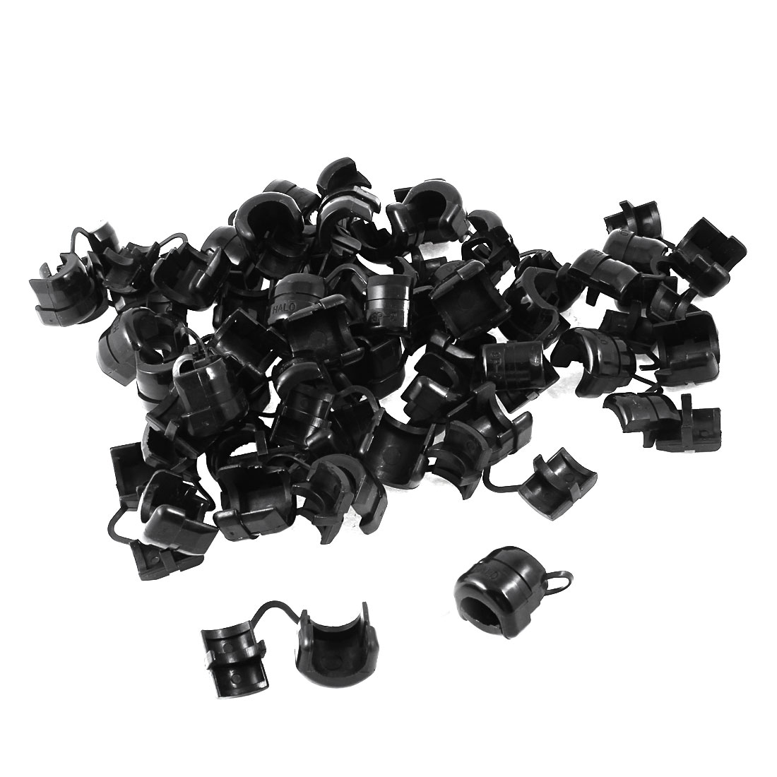 50 X Electrical Equipment Nylon Strain Relief Bushing For 13mm Dia