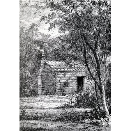 Birthplace Of James Abram Garfield 1831 To 1881 20Th President Of The United States From From Log Cabin To White House By William M Thayer Published By Hodder And Stoughton (White Cabin)