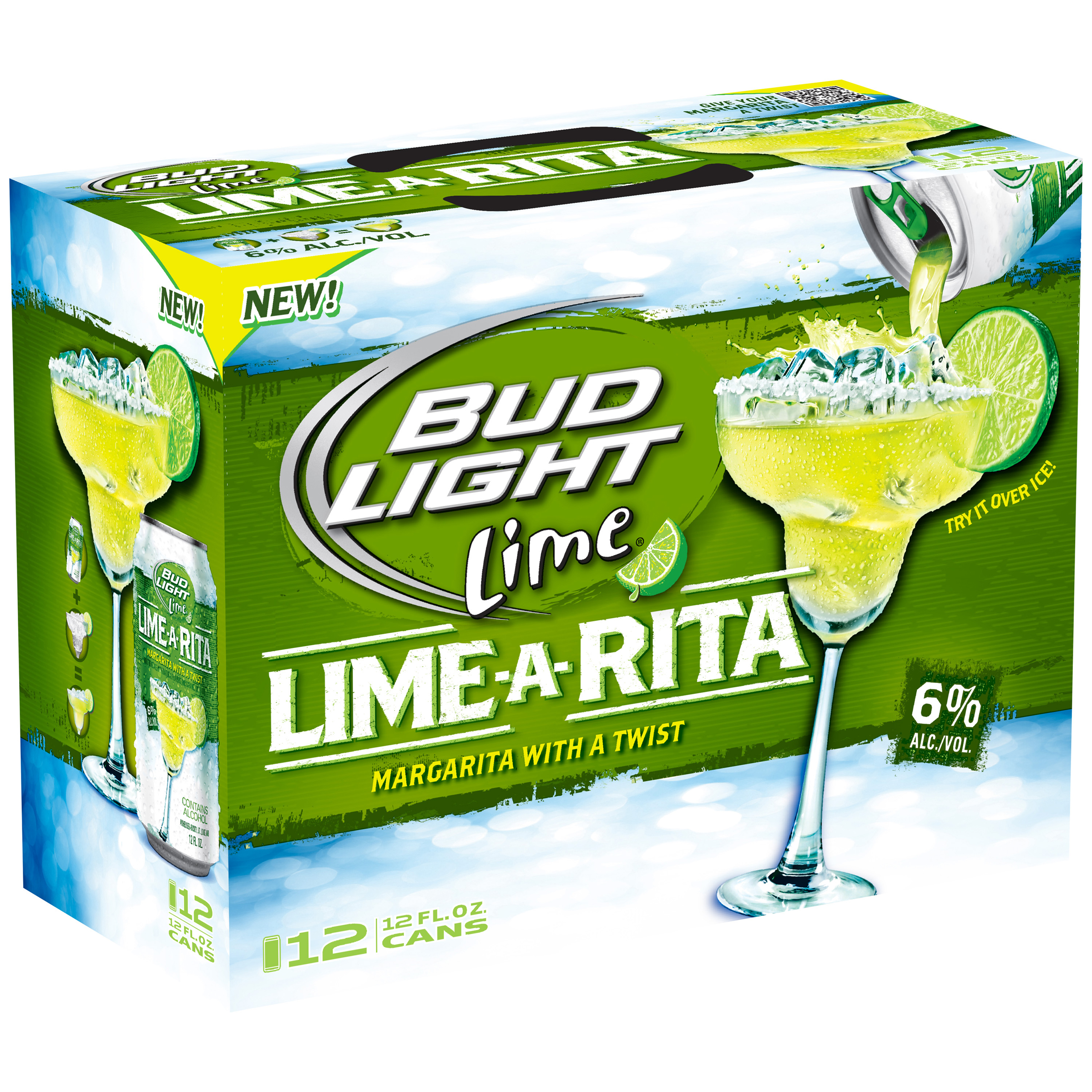 Wonderful Bud Light Lime A Rita, 12 Pk 12 Fl. Oz. Cans   Walmart.com