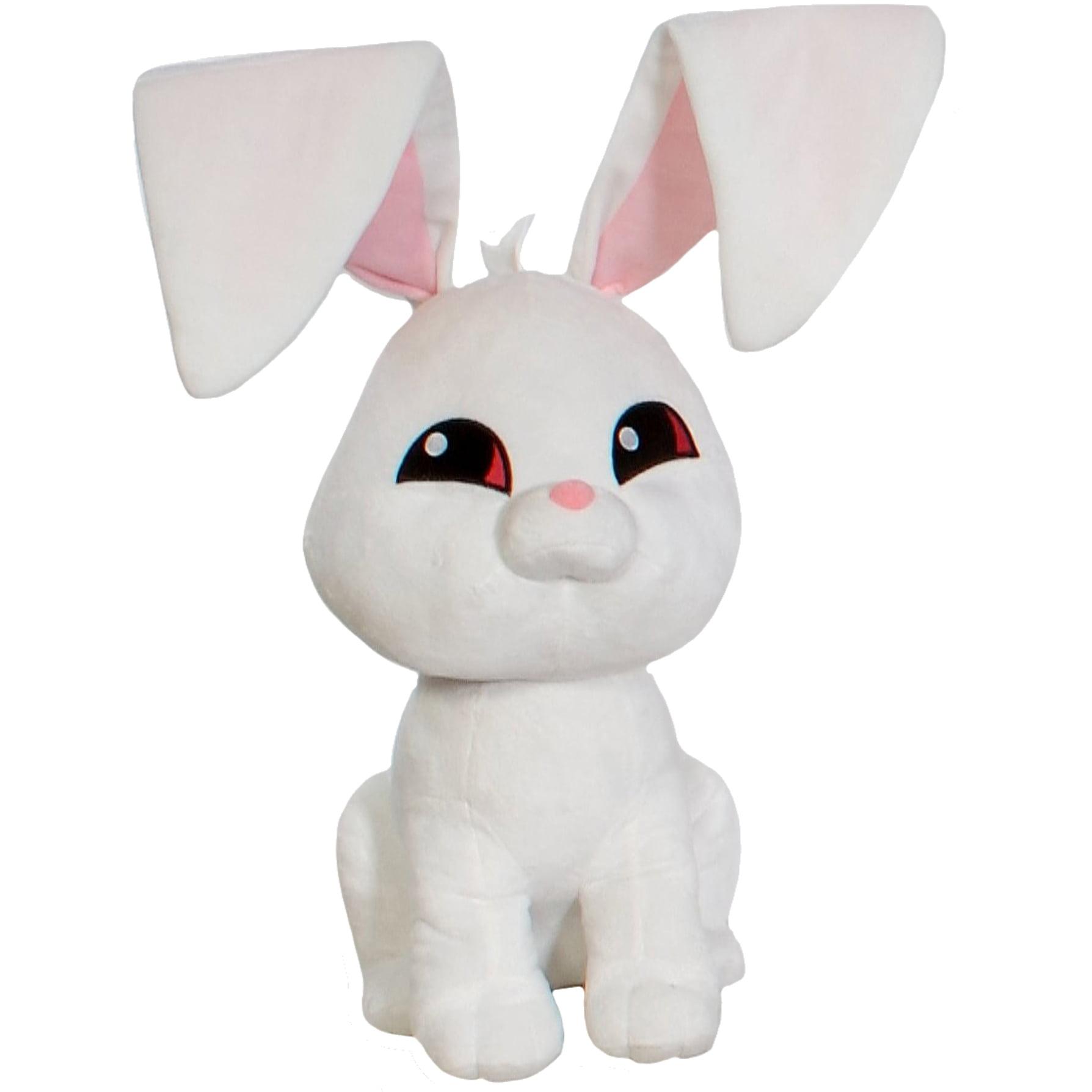 Animal Jam 14 Inch Plush White Bunny By Fiesta Walmart Com