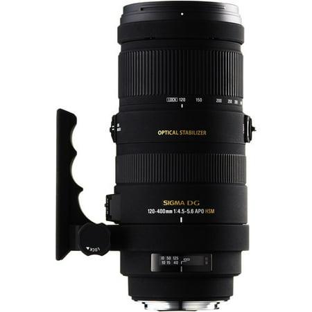 Sigma 120-400mm f/4.5-5.6 AF APO DG HSM Telephoto Zoom Lens for Sony Digital SLR Cameras