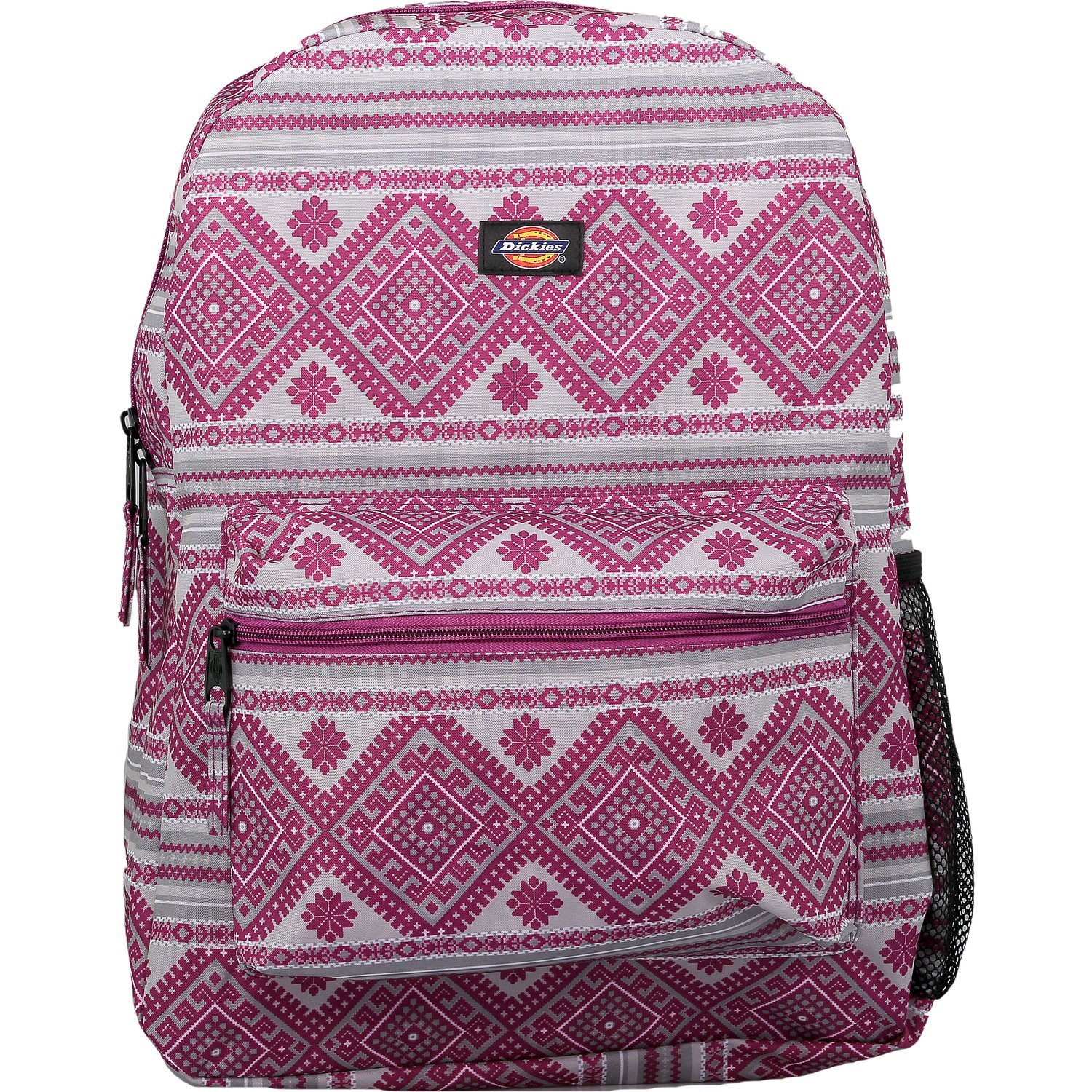Dickies Student Polyester Backpack - Pink Berry Knit