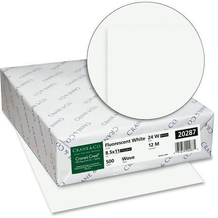 Crane's Crest, NEE20287, Premium Paper, 500 / Pack, Bright (Crest Paper)