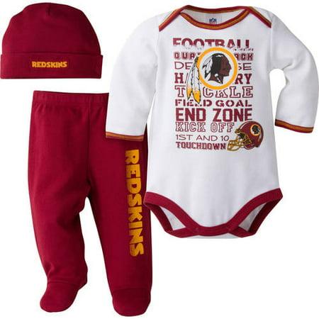 Nfl Washington Redskins Baby Boys Bodysu - Walmart.com f91bc4156