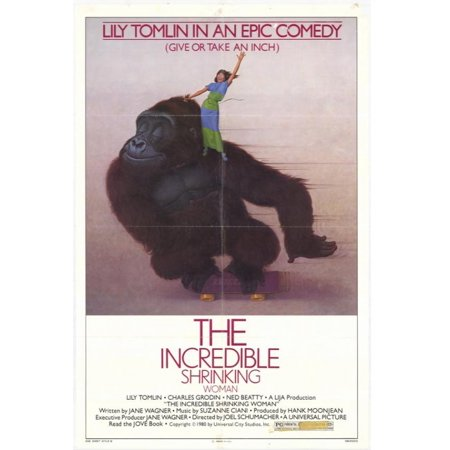 The Incredible Shrinking Woman Movie Poster  11 X 17