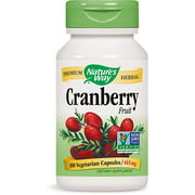 Nature's Way Cranberry Fruit Capsule, 100 Count
