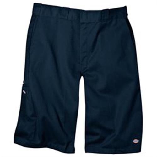 "Dickies 42283 13"" Loose Fit Multi-Pocket Work Short-Royal Blue-28"