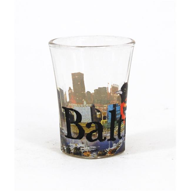 Americaware SGBAL01 Baltimore Full Color ; Etched  Shot G...