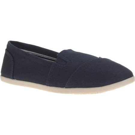 Faded Glory Canvas Slip On Shoes Womens