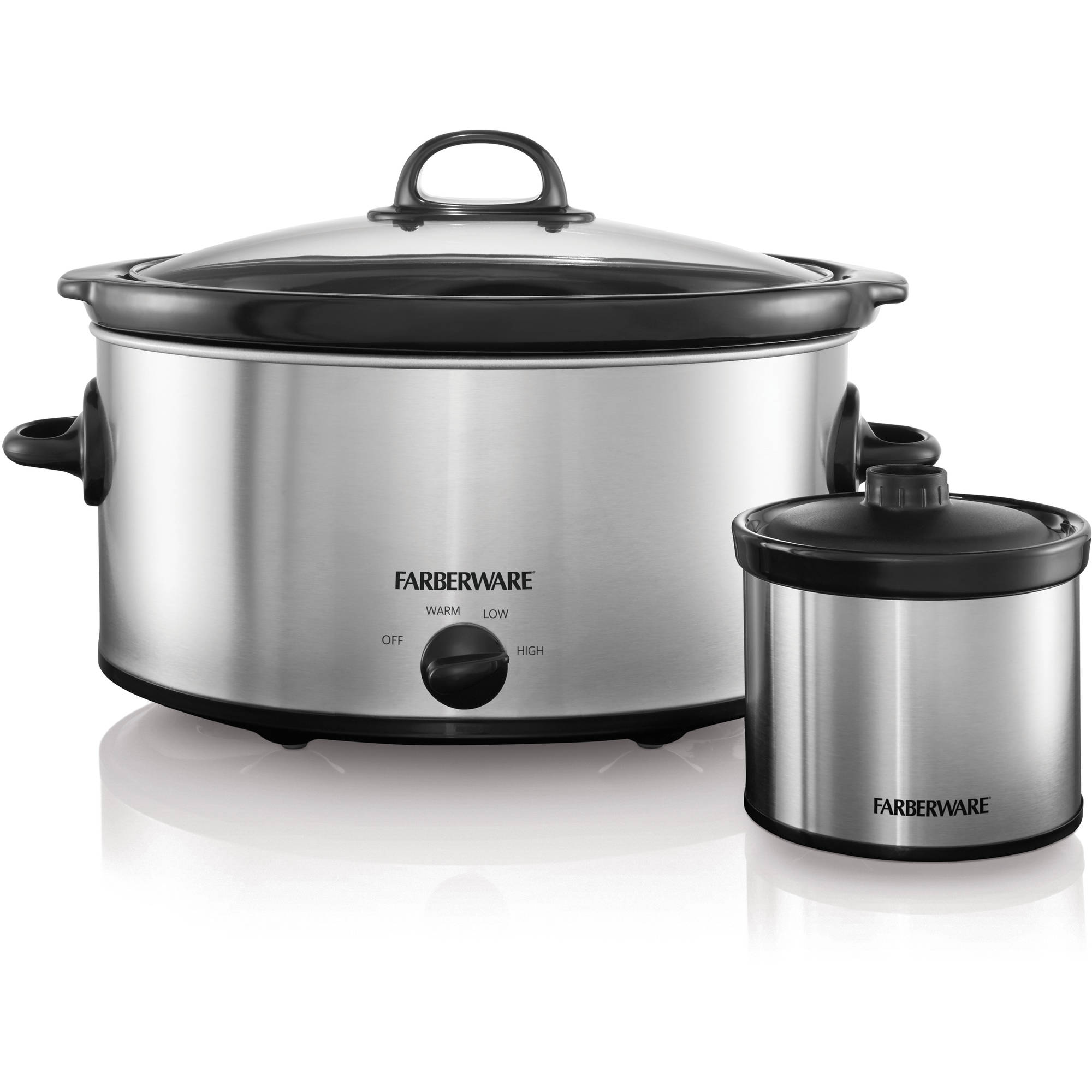Farberware 6 qt Slow Cooker with Mini Dipper