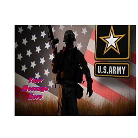 US Army Edible Image Sheets Cake Toppers (Frosting Sheet)