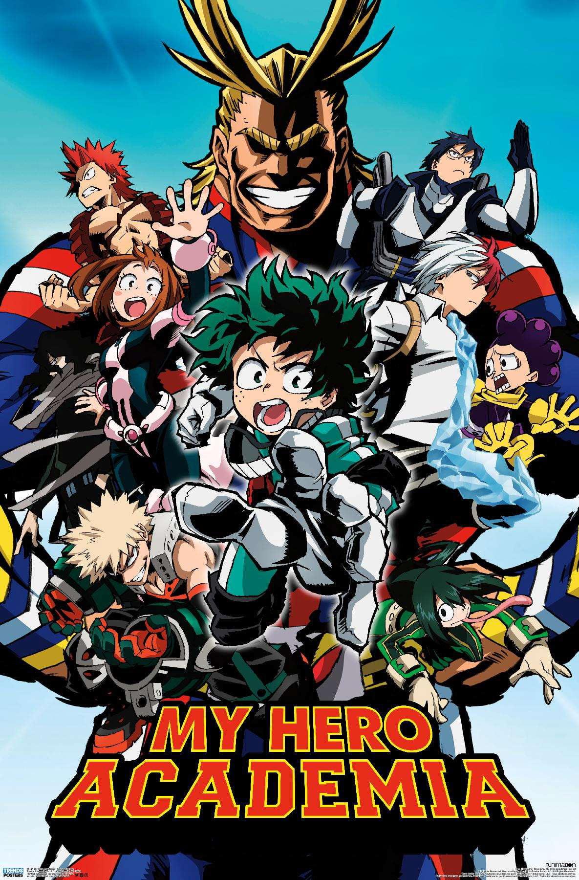 My Hero Academia - Group Collage Poster - Walmart.com ...