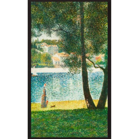 Robert Kaufman George Seurat Nature Park Lake (George Fabric)