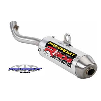 Pro Circuit R-304 Shorty Aluminum Silencer for Yamaha YZ250 2003-2018