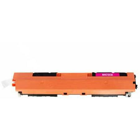 (Universal Inkjet Premium Compatible HP CF353A/130A Cartridge, Magenta)