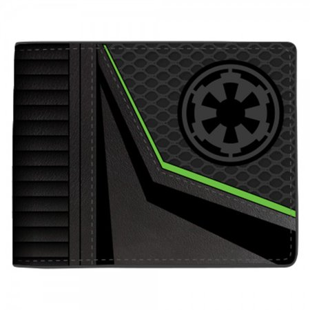 Star Wars Rogue One Empire Logo Bi Fold Black Wallet