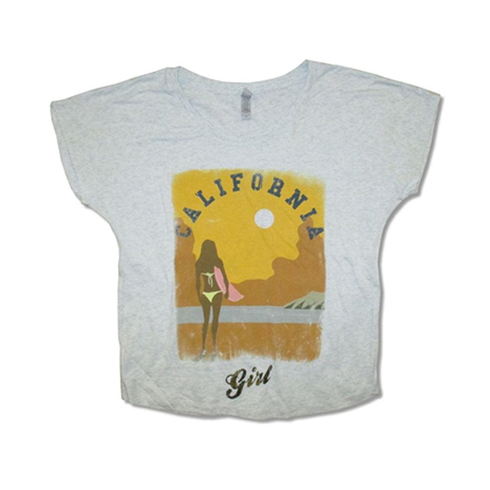 Beach Boys - Beach Boys California Girls Girls Jr Grey - Walmart.com d8f702cdf349